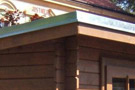 Oplechování pultové střechy