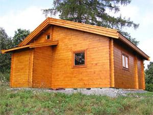 Dřevěné chaty ceník